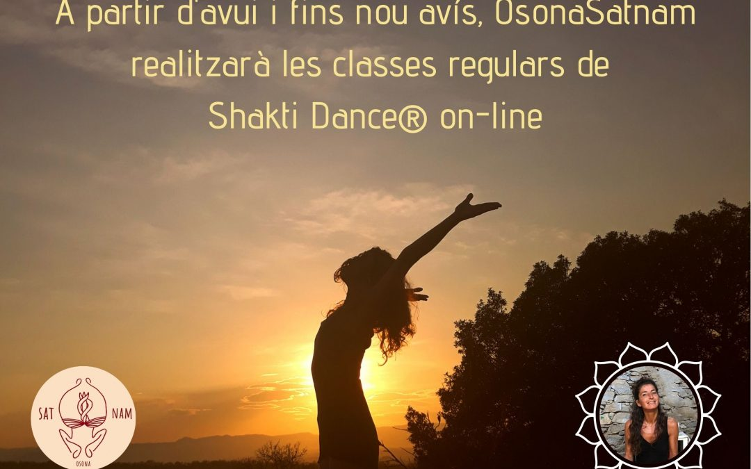 Classes Shakti Dance® des de casa