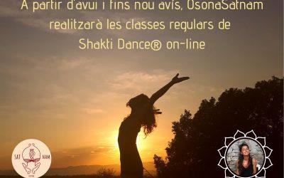 Classes Shakti Dance® des de casa
